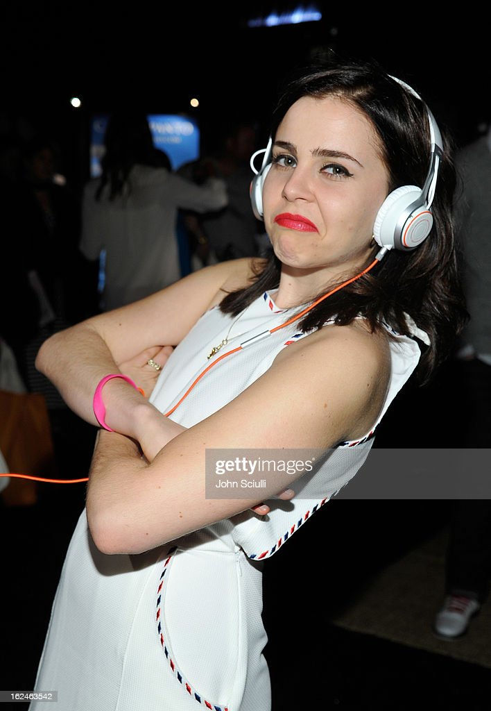 Actress Mae Whitman attends the On3 Official Presenter Gift Lounge during the 2013 Film Independent Spirit Awards at Santa Monica Beach on February 23, 2013 in Santa Monica, California.