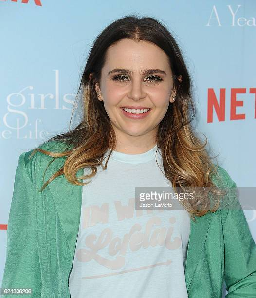 Actress Mae Whitman attends the premiere of Gilmore Girls A Year in the Life at Regency Bruin Theatre on November 18 2016 in Los Angeles California