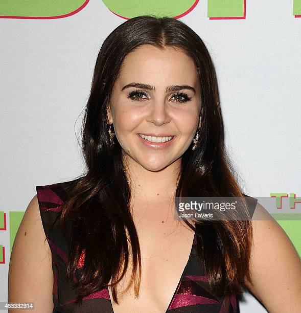 Actress Mae Whitman attends the premiere of The Duff at TCL Chinese 6 Theatres on February 12 2015 in Hollywood California