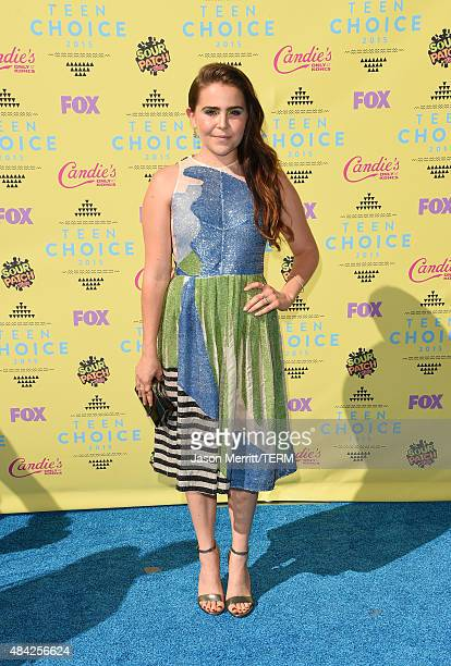 Actress Mae Whitman attends the Teen Choice Awards 2015 at the USC Galen Center on August 16 2015 in Los Angeles California