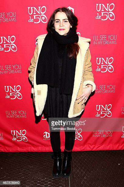 Actress Mae Whitman attends the UNOde50 Jewelry Line Dinner Party for 'See You in My Dreams' on January 26 2015 in Park City Utah