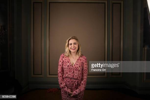 Actress Mae Whitman is photographed for Los Angeles Times on January 9, 2018 in Los Angeles, California. PUBLISHED IMAGE. CREDIT MUST READ: Francine...