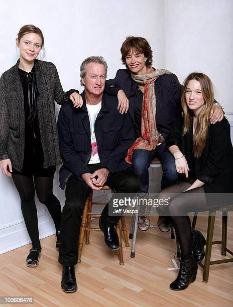 Actress Maeve Dermody actor Bryan Brown director Rachel Ward and actress Sophie Lowe pose for a portrait during the 2009 Toronto International Film...