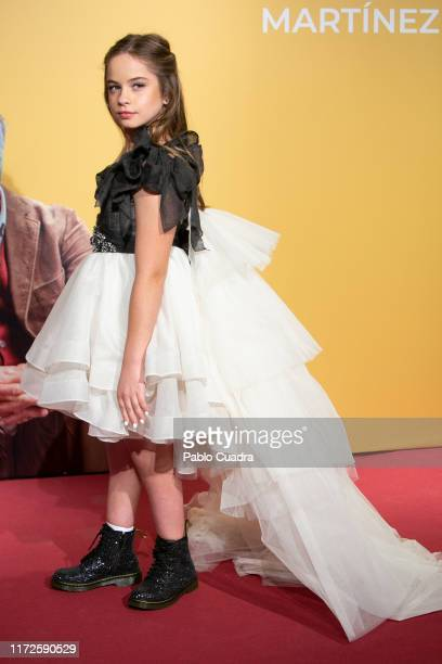 Actress Mafalda Carbonell attends 'Vivir Dos Veces' premiere at Capitol cinema on September 05 2019 in Madrid Spain