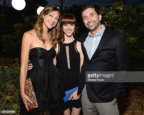 Actress Mageina Tovah enjoys the 'More Than a Cone' art auction and campaign launch benefiting Best Friends Animal Society in Los Angeles where...