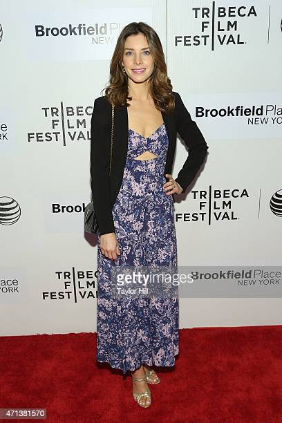 """Actress Maggie Castle attends the world premiere of """"Tumbledown"""" during the 2015 Tribeca Film Festival at BMCC Tribeca PAC on April 18, 2015 in New..."""