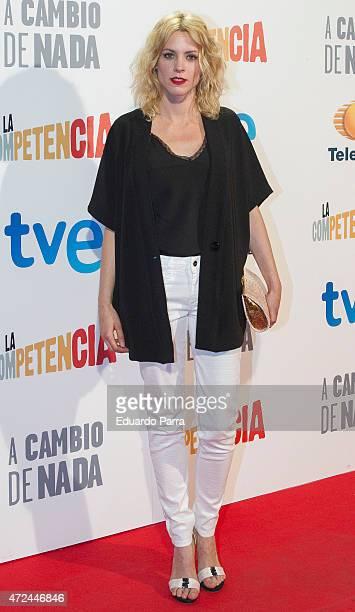 Actress Maggie Civantos attends 'A cambio de nada' premiere at Capitol cinema on May 7, 2015 in Madrid, Spain.