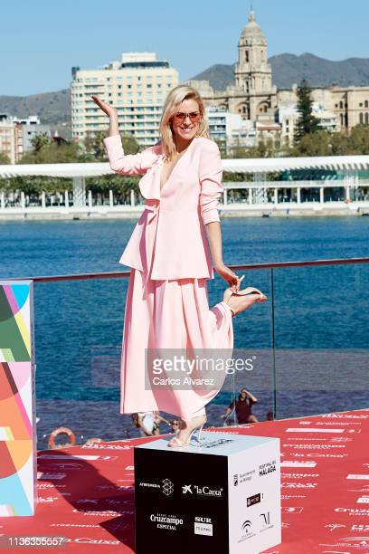 Actress Maggie Civantos attends 'Antes de la Quema' photocall during the 22th Malaga Film Festival on March 17 2019 in Malaga Spain