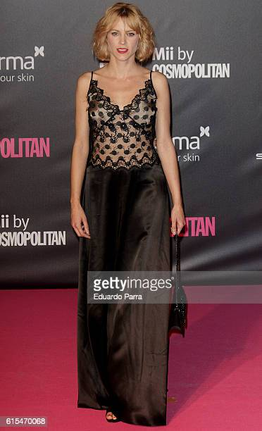 Actress Maggie Civantos attends the 'Cosmopolitan Fun Fearless Female' awards 2016 at La Riviera Disco on October 18 2016 in Madrid Spain