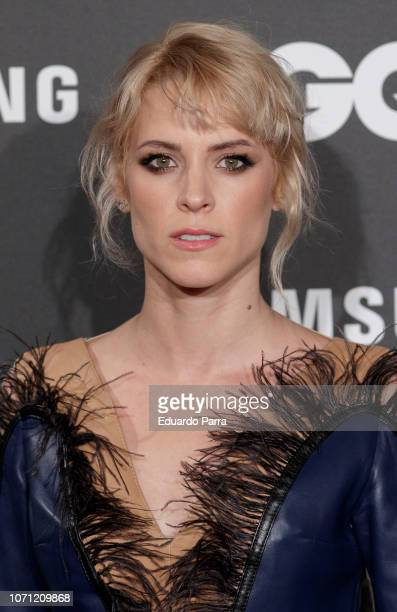 Actress Maggie Civantos attends the 'GQ Men of the Year' awards photocall at Palace hotel on November 22 2018 in Madrid Spain