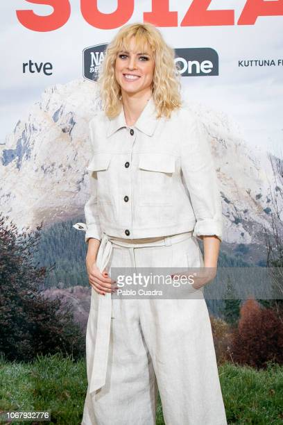 Actress Maggie Civantos attends the 'La Pequena Suiza' photocall at Only You hotel on December 3 2018 in Madrid Spain