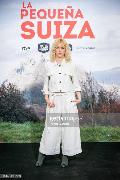 Actress Maggie Civantos attends the 'La Pequena Suiza' photocall at Only You hotel on December 3, 2018 in Madrid, Spain.