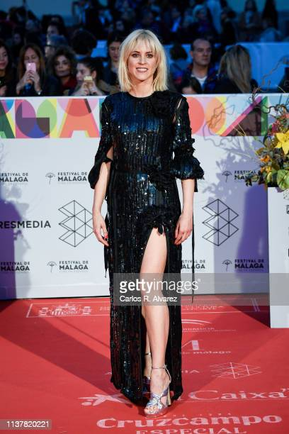 Actress Maggie Civantos attends the Malaga Film Festival 2019 closing day gala at Cervantes Theater on March 23 2019 in Malaga Spain