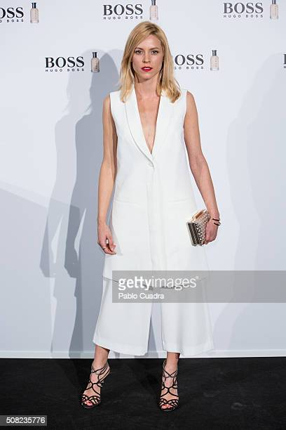 Actress Maggie Civantos attends the 'Man of Today' campaign photocall at the Eurobuilding Hotel on February 3 2016 in Madrid Spain