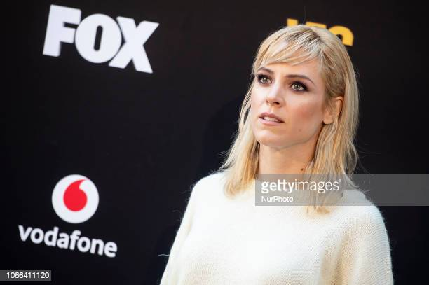 Actress Maggie Civantos attends to presentation of Season 4 of Vis a Vis series in Madrid Spain November 29 2018