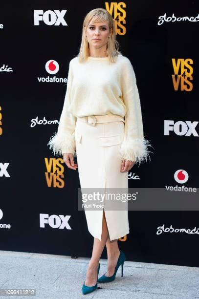 Actress Maggie Civantos attends to presentation of Season 4 of Vis a Vis series in Madrid Spain November 29 2018