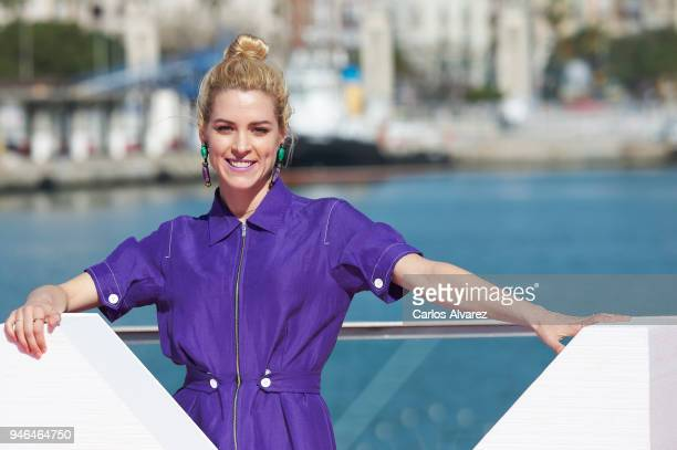 Actress Maggie Civantos attends 'Vis a Vis' photocall during 21th MAlaga Film Festival on April 15, 2018 in Malaga, Spain.