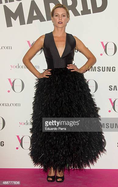 Actress Maggie Civantos attends 'Yo Dona' party photocall at Eurobuilding hotel on September 17 2015 in Madrid Spain