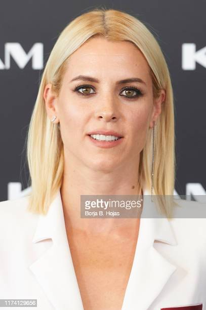 Actress Maggie Civantos during the presentation of new brand Karigam on September 12 2019 in Madrid Spain