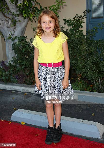 Actress Maggie Elizabeth Jones attends the premiere of Child Of Grace at Raleigh Studios on August 11 2014 in Los Angeles California