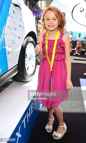 Actress Maggie Elizabeth Jones attends Variety's Power of Youth presented by Cartoon Network held at Paramount Studios on September 15, 2012 in...