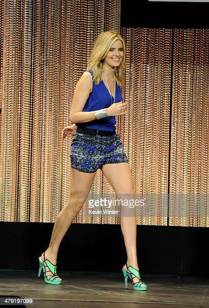 """Actress Maggie Grace appears onstage at The Paley Center Media's PaleyFest 2014 Honoring """"Lost"""" 10th Anniversary Reunion at the Dolby Theatre on..."""