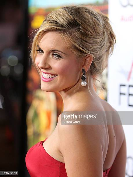 Actress Maggie Grace arrives at the AFI FEST 2009 premiere of 20th Century Fox's 'Fantastic Mr Fox' on October 30 2009 in Los Angeles California