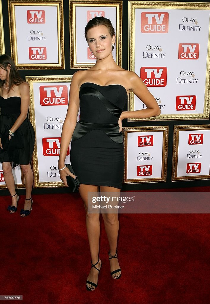 Actress Maggie Grace arrives at TV Guide's 5th Annual Emmy Party September 16, 2007 in Los Angeles, California.