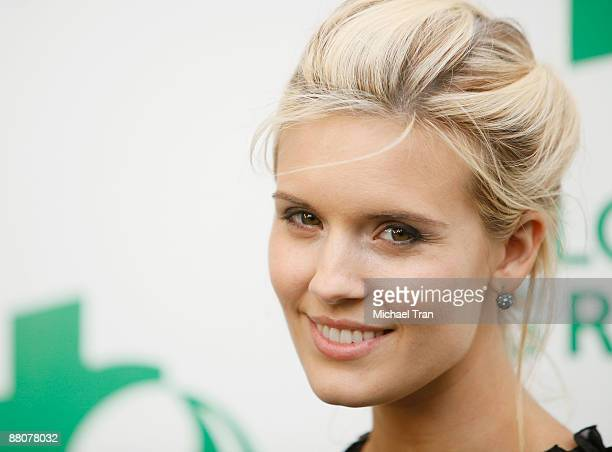 Actress Maggie Grace arrives to the Global Green USA's 13th Annual Millennium Awards held at the Fairmont Miramar Hotel on May 30 2009 in Santa...