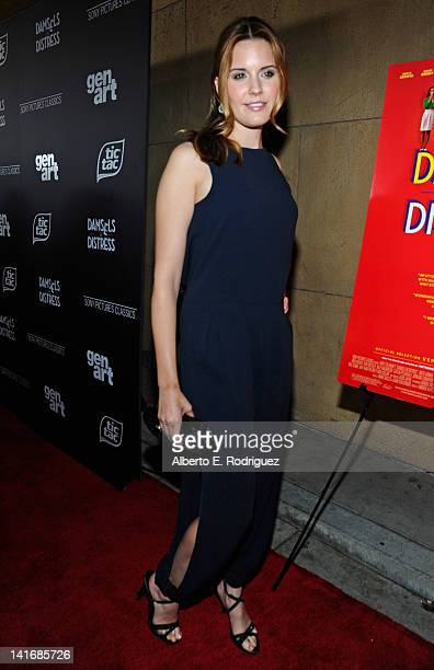 Actress Maggie Grace arrives to the Premiere of Sony Pictures Classics' Damsels In Distress at the Egyptian Theatre on March 21 2012 in Hollywood...