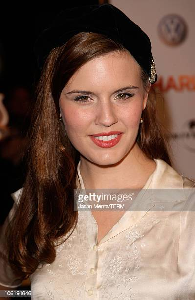 """Actress Maggie Grace arrives to the premiere of Universal Pictures' """"Charlie Wilson's War"""" at City Walk Cinemas on December 10, 2007 in Universal..."""