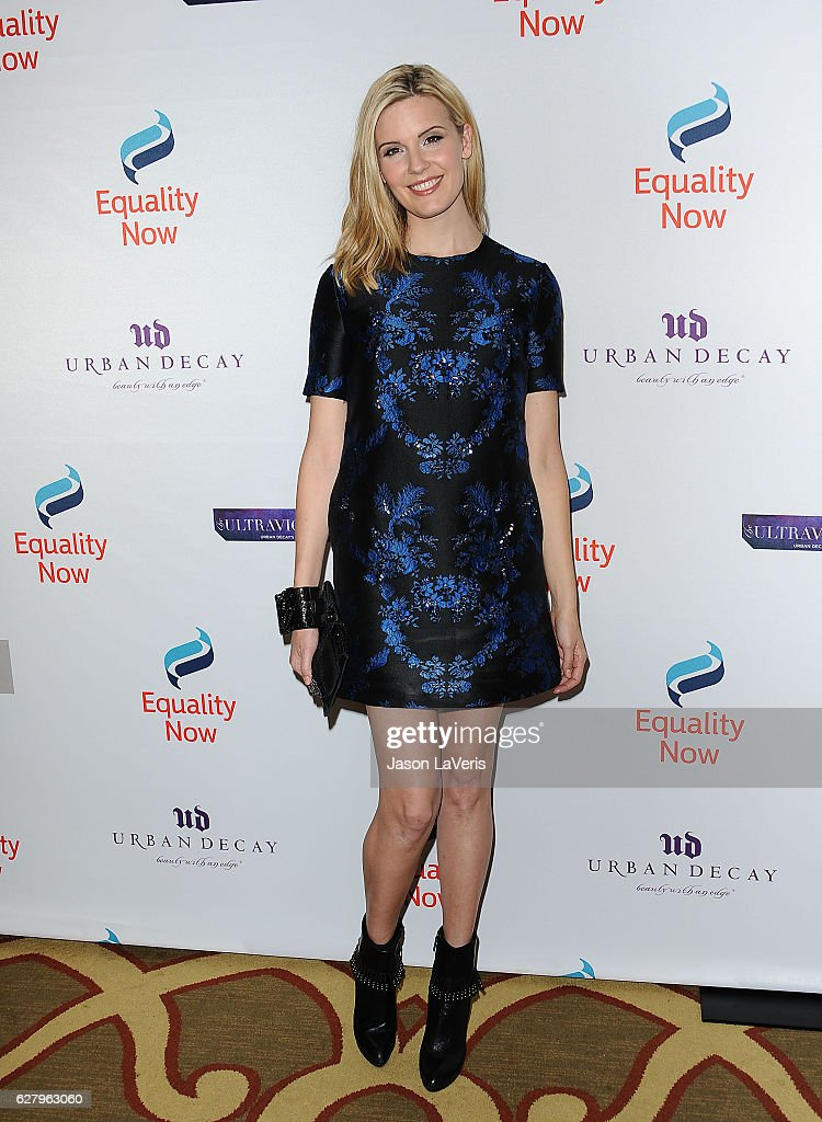 Actress Maggie Grace attends Equality Now's 3rd annual 'Make Equality Reality' gala at Montage Beverly Hills on December 5, 2016 in Beverly Hills, California.
