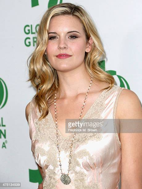 Actress Maggie Grace attends Global Green USA's 11th Annual PreOscar party at Avalon on February 26 2014 in Hollywood California
