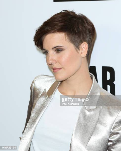 Actress Maggie Grace attends 'Survival Sunday The Walking Dead and Fear The Walking Dead' at AMC Century City 15 theater on April 15 2018 in Century...