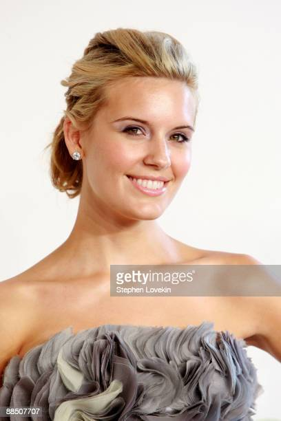 Actress Maggie Grace attends the 2009 CFDA Fashion Awards at Alice Tully Hall Lincoln Center on June 15 2009 in New York City