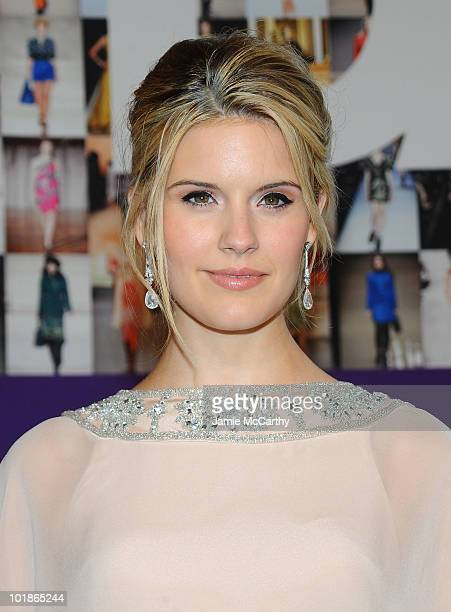 Actress Maggie Grace attends the 2010 CFDA Fashion Awards at Alice Tully Hall at Lincoln Center on June 7 2010 in New York City