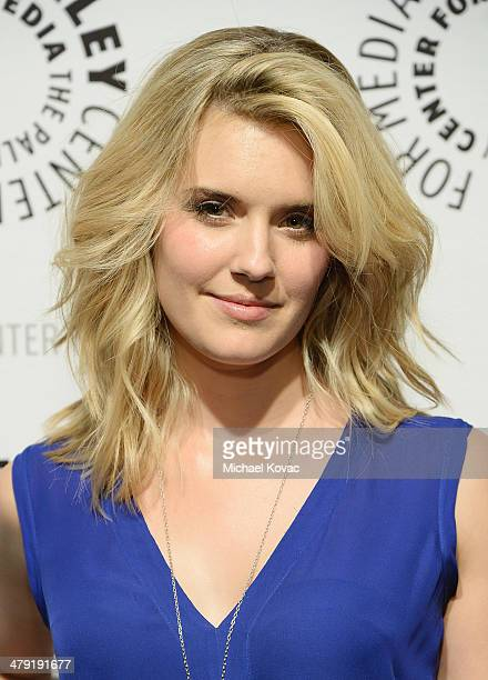 """Actress Maggie Grace attends The Paley Center For Media's PaleyFest 2014 Honoring """"Lost: 10th Anniversary Reunion"""" at Dolby Theatre on March 16, 2014..."""