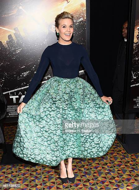 Actress Maggie Grace attends the Taken 3 Fan Event Screening at AMC Empire 25 theater on January 7 2015 in New York City