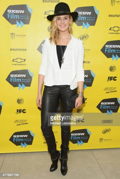 Actress Maggie Grace attends the 'We'll Never Have Paris' premiere during the 2014 SXSW Music Film Interactive Festival at the Topfer Theatre at ZACH...