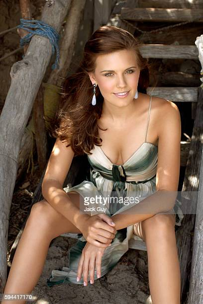 Actress Maggie Grace is photographed for OK Magazine in 2007 in Los Angeles California PUBLISHED IMAGE