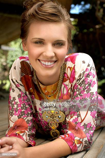 Actress Maggie Grace is photographed for OK Magazine in 2007 in Los Angeles California