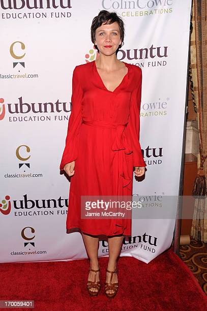 Actress Maggie Gyllenahaal attends the Annual Ubuntu Education Fund NY Gala at Gotham Hall on June 6 2013 in New York City