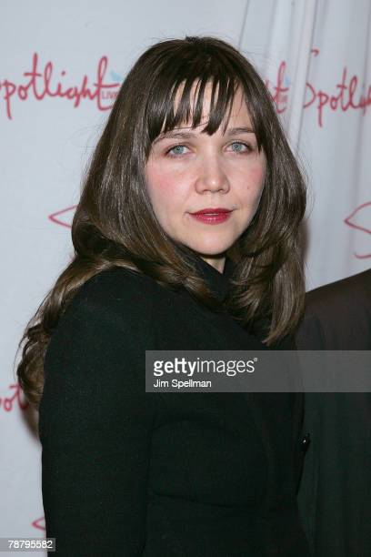 Actress Maggie Gyllenhaal arrives at the 2007 New York Film Critic's Circle Awards at Spotlight on January 6, 2008 in New York City.
