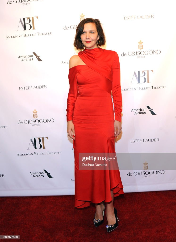 Maggie Gyllenhaal At American Ballet Theatre Fall Gala