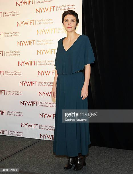 Actress Maggie Gyllenhaal attends 34th Annual New York Women In Film And Television Muse Awards at New York Hilton Midtown on December 11, 2014 in...