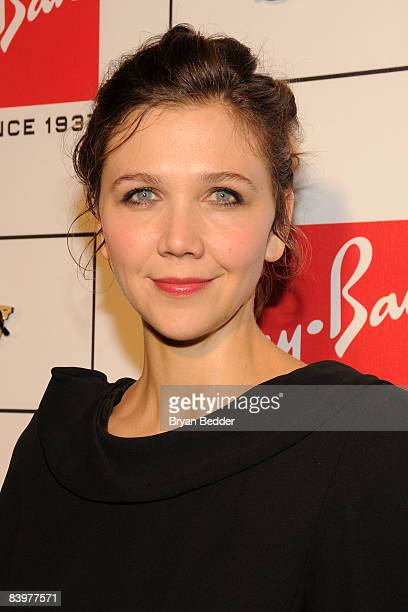 9fe73639a08d Actress Maggie Gyllenhaal attends a celebration of the remastered  Clubmaster sunglasses originally introduced by RayBan in