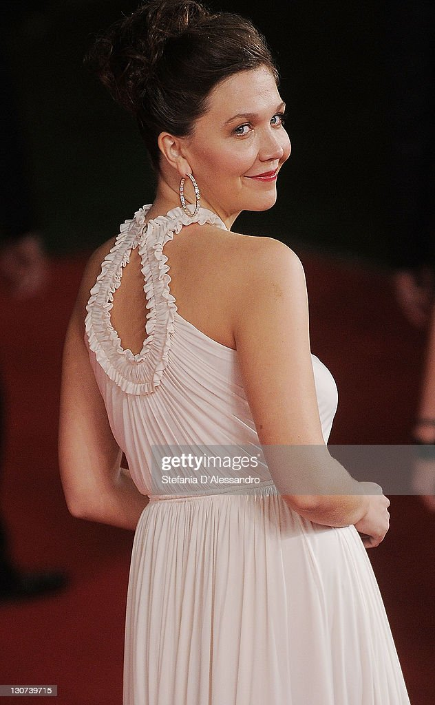 Actress Maggie Gyllenhaal attends 'Hysteria' Premiere during the 6th International Rome Film Festival at Auditorium Parco Della Musica on October 28, 2011 in Rome, Italy.