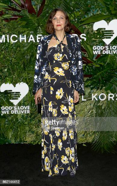 Actress Maggie Gyllenhaal attends the 11th Annual God's Love We Deliver Golden Heart Awards at Spring Studios on October 16 2017 in New York City