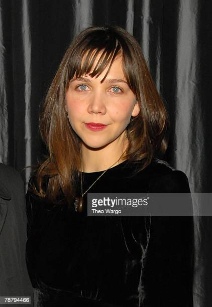 Actress Maggie Gyllenhaal attends the 2007 New York Film Critic's Circle Awards at Spotlight on January 6, 2008 in New York City.