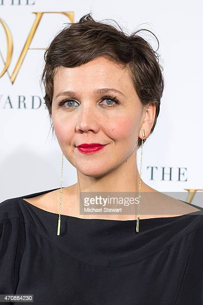 Actress Maggie Gyllenhaal attends the 2015 DVF Awards at United Nations on April 23 2015 in New York City